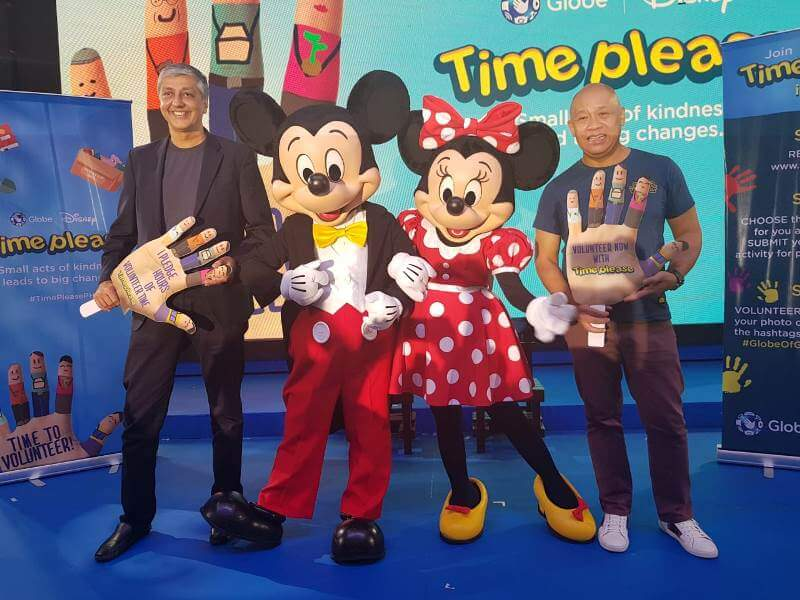 Globe, Disney Launch Time Please Campaign