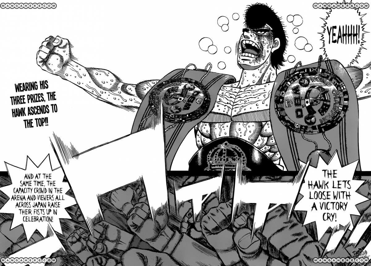 Hajime no Ippo - Chapter 1120