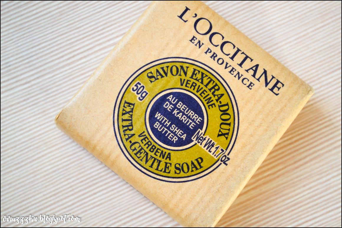 Мыло карите-вербена L'Occitane отзыв