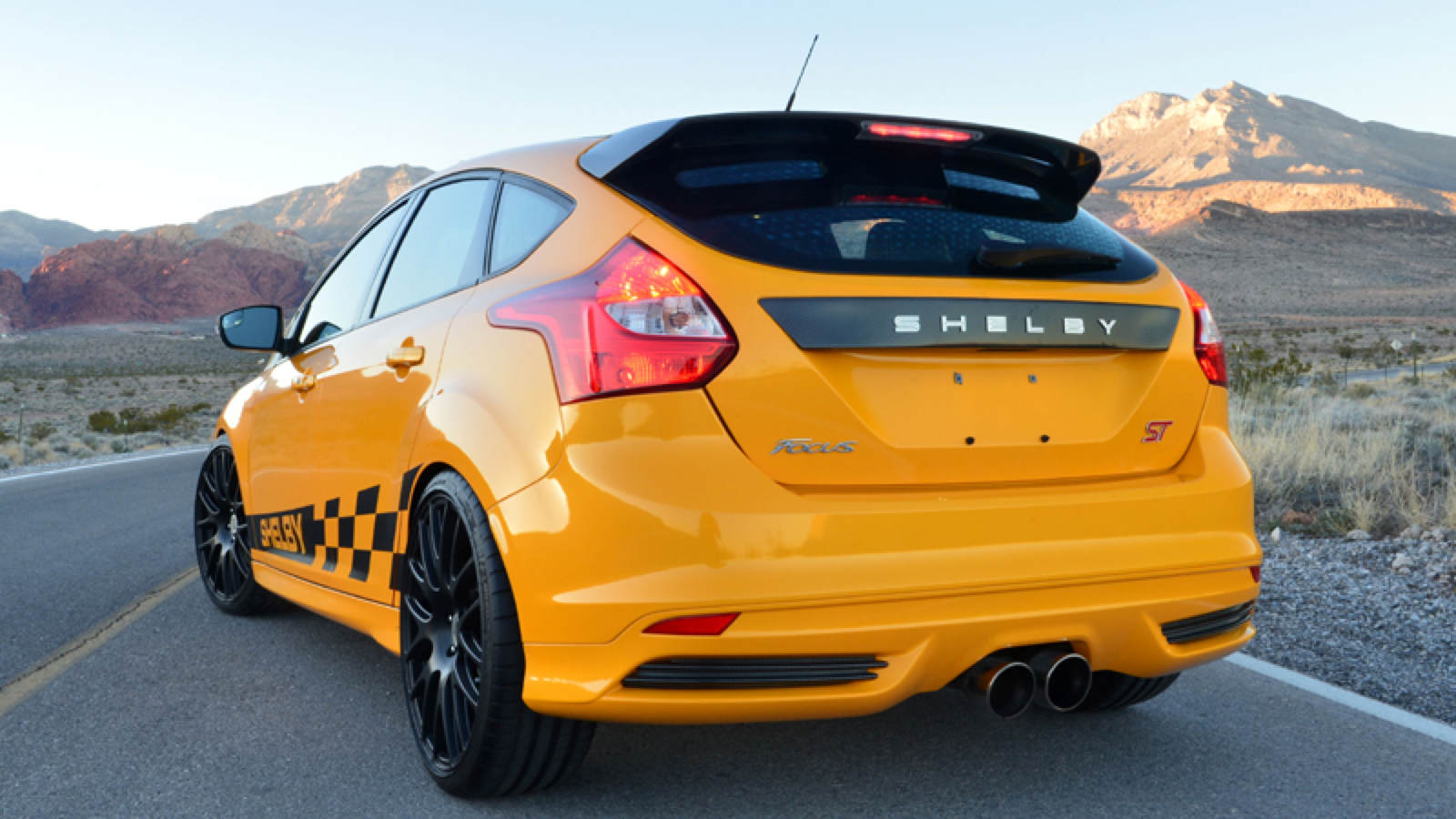 all cars nz 2013 ford focus st by shelby. Black Bedroom Furniture Sets. Home Design Ideas
