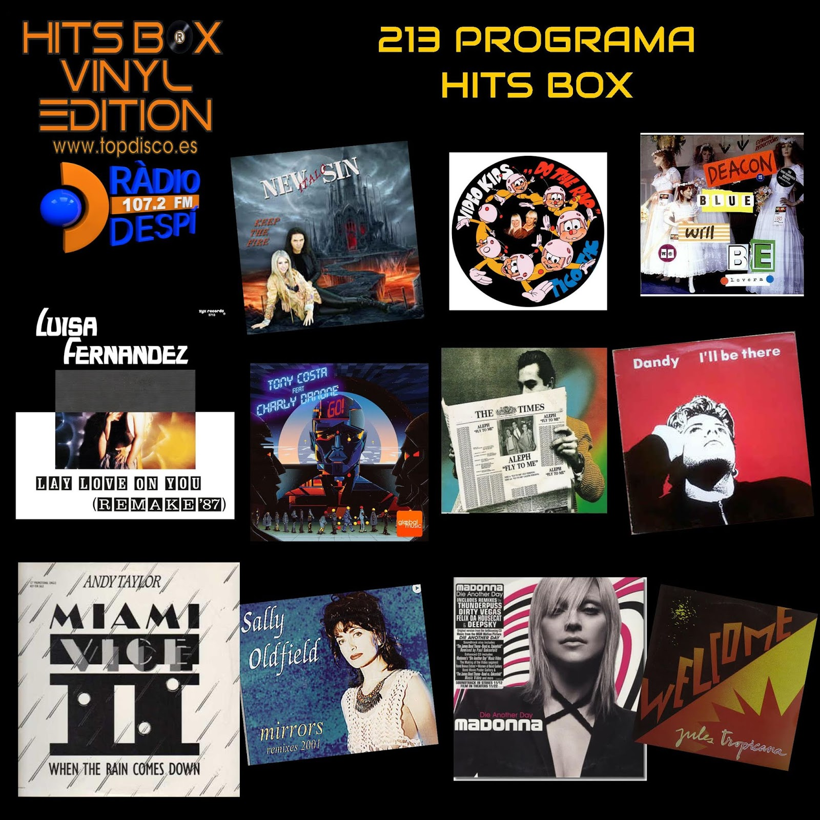 Redifusion 213 Programa Hits Box