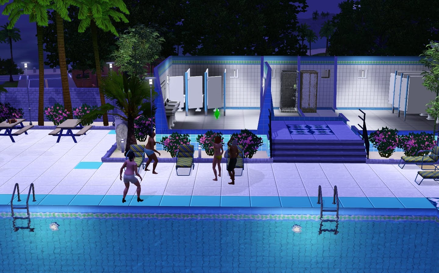 Sims 3 Pool Rund Drehen The Opinion Bunny Sims 3 Fun