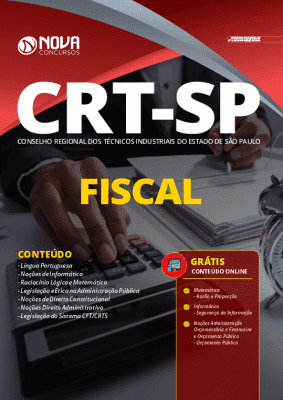 Apostila Concurso CRT SP 2020 PDF Grátis Cursos Online Cargo Fiscal