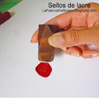 Como se usa sello para  lacrar  sobres invitaciones guatemala fabrica de lacre rojo
