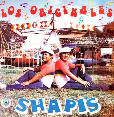 Foto de Los Shapis en portada de disco
