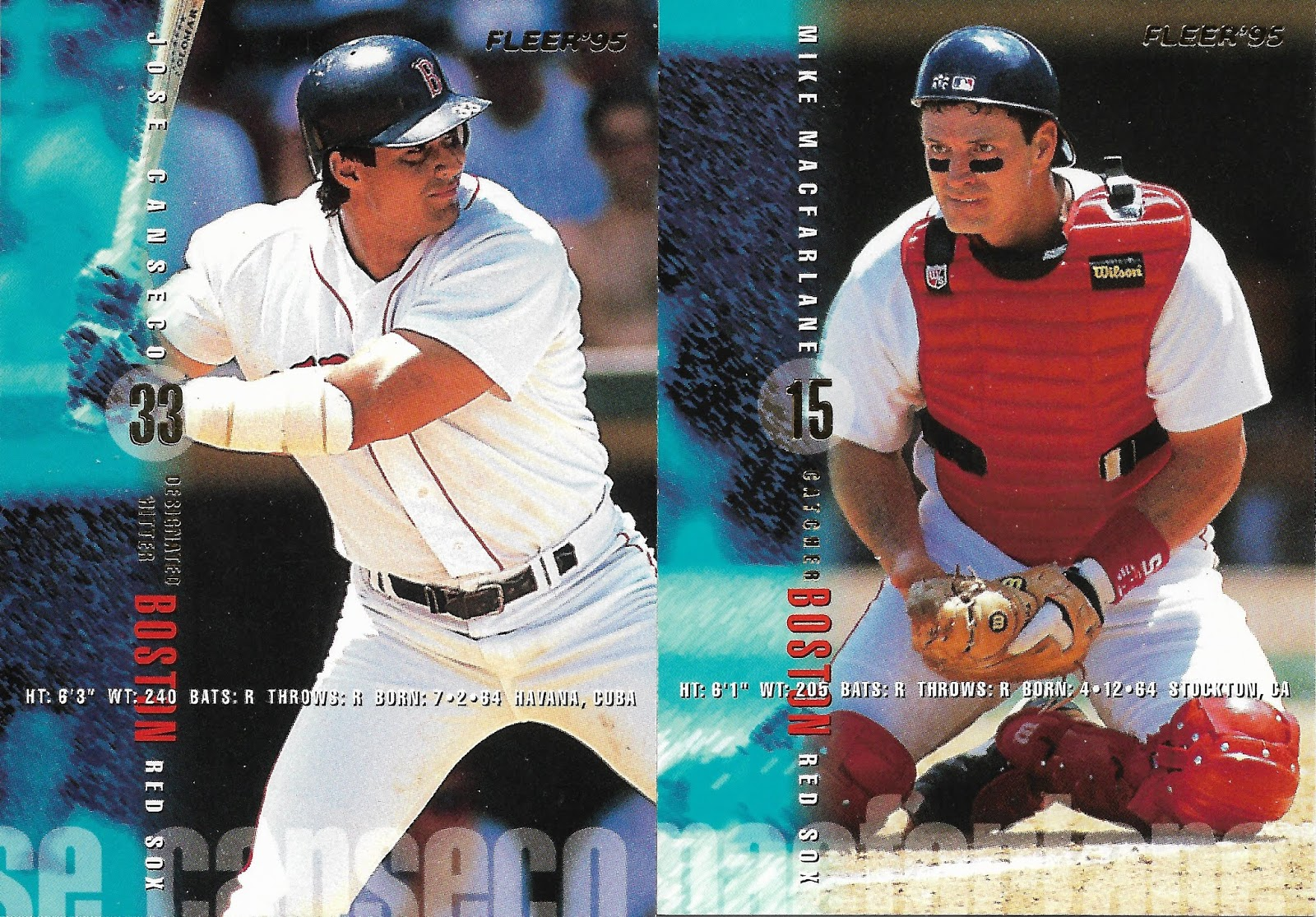 4153123236 All four Red Sox in the 1995 Fleer Update were there.