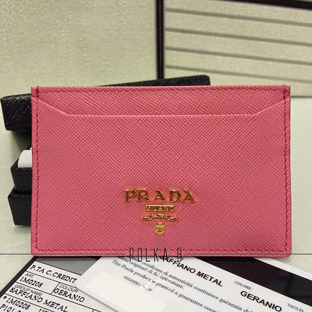f0ed66a2aaf5 Prada Card Holder Pink eagle-couriers.co.uk