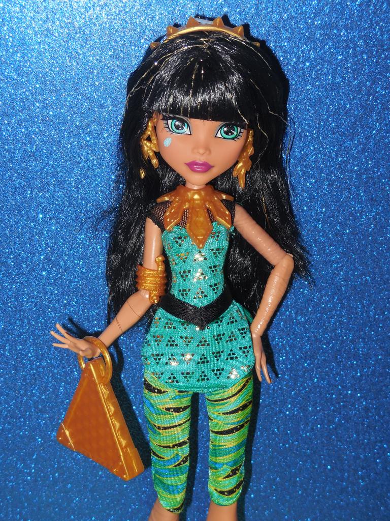 Veni Vidi Dolli Review Monster High Cleo De Nile