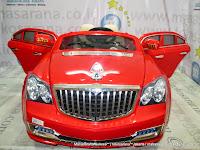 Mobil Mainan Aki Pliko PK999N Maybach 2 Kursi 2XL
