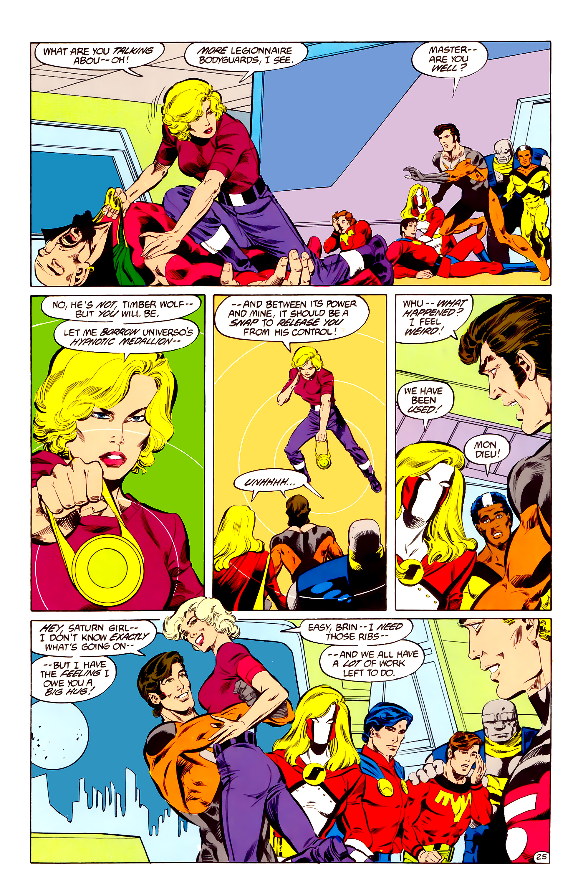 Legion of Super-Heroes (1984) 35 Page 24