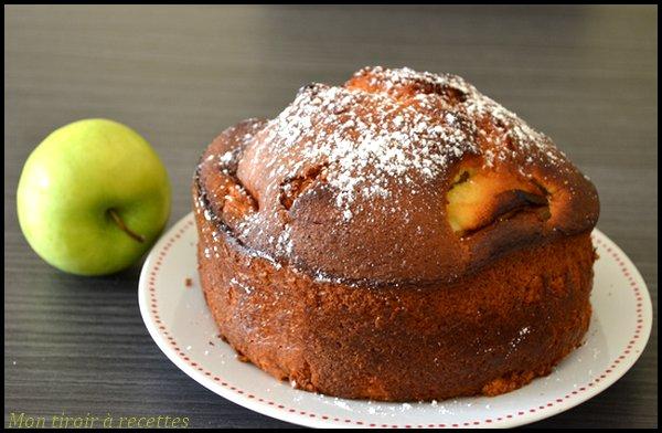 gâteaux pommes huile d'olive