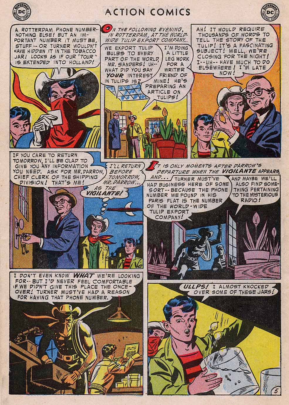 Read online Action Comics (1938) comic -  Issue #196 - 38