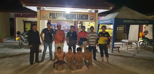 Komplotan Pencuri Sapi di Wilayah Bayung Lincir Digulung Polisi