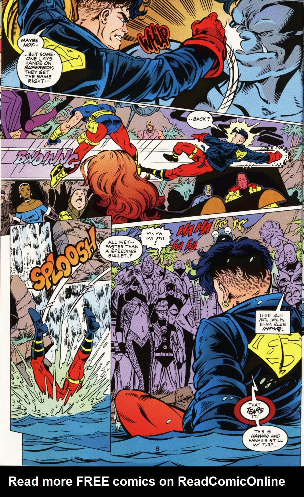 Read online Superboy & The Ravers comic -  Issue #1 - 9
