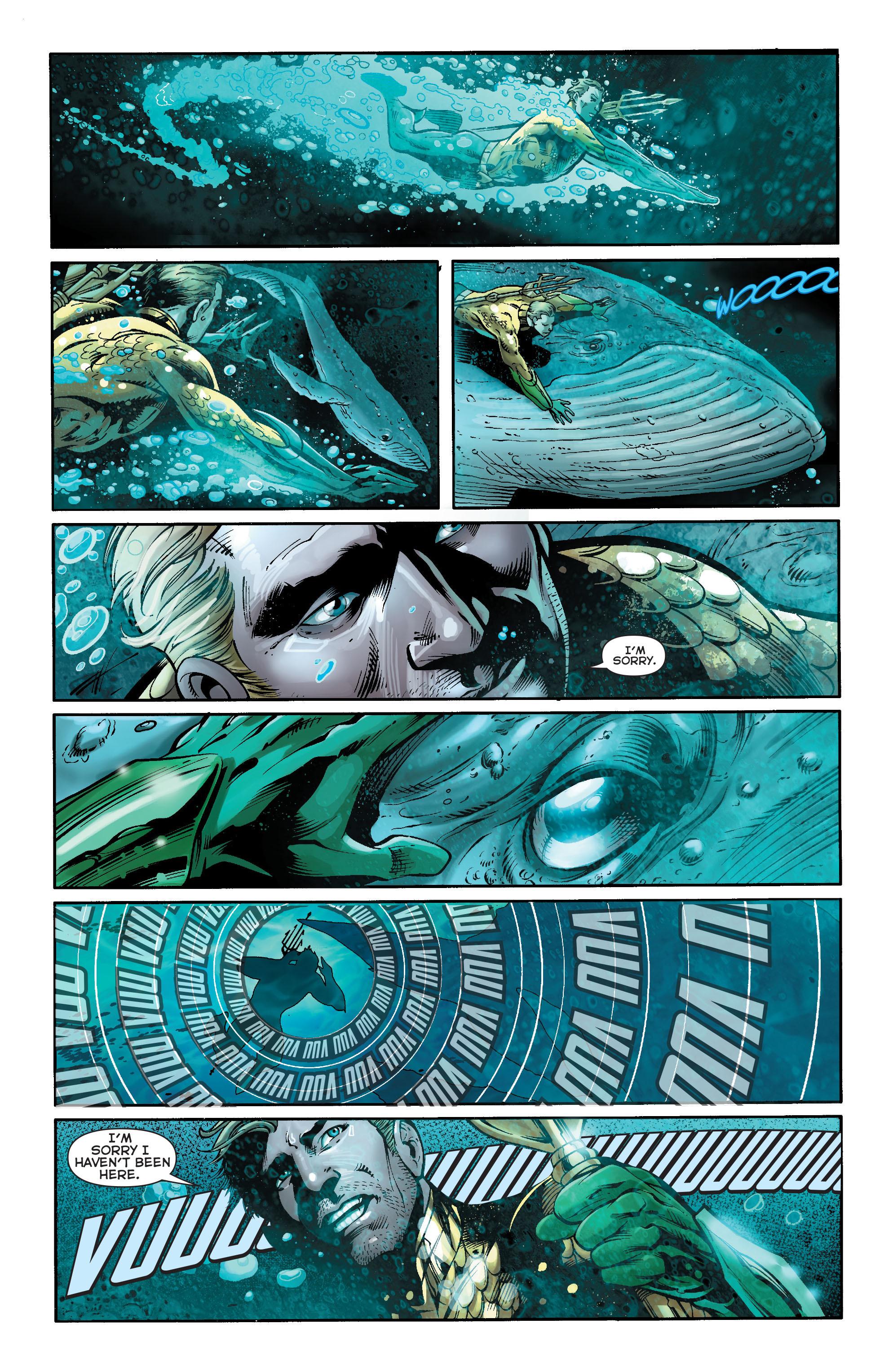 Read online Aquaman (2011) comic -  Issue #17 - 17