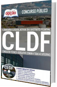 Apostila CLDF 2017 Consultor Técnico-Legislativo