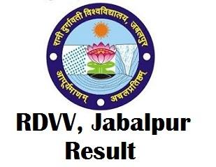 Rani Durgavati Vishwavidyalaya Exam Result 2017