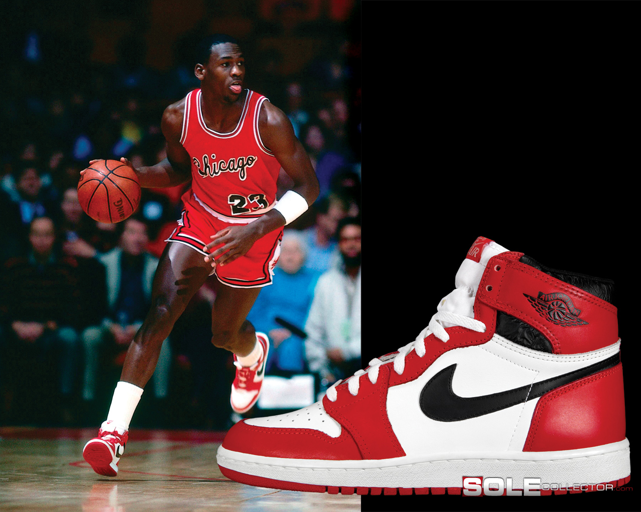 Michael Jordan First Shoe Deal