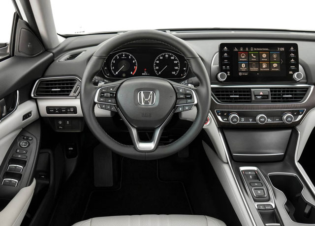 New Honda Accord - A High-End Sedan Full Of Technology