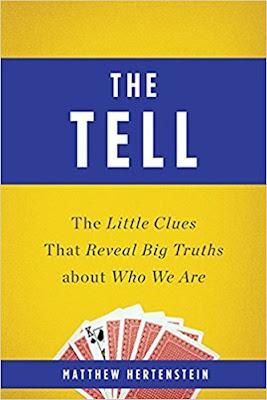 The Tell by Matthew Hertenstein (Book cover)