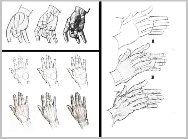 kara kalem ile el çizim teknikleri