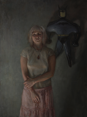 Self Portrait with Batman (2012), Kristy Gordon
