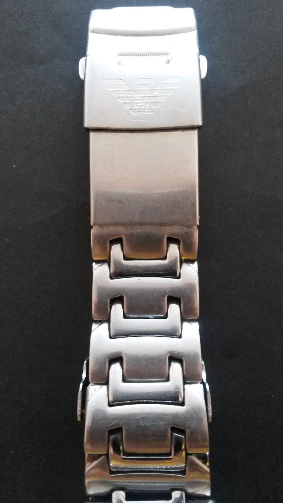 66c62862769 Relógio original com caixa a pulseira em aço inoxidável e a prova d água.  Vou fazer uma limpeza geral
