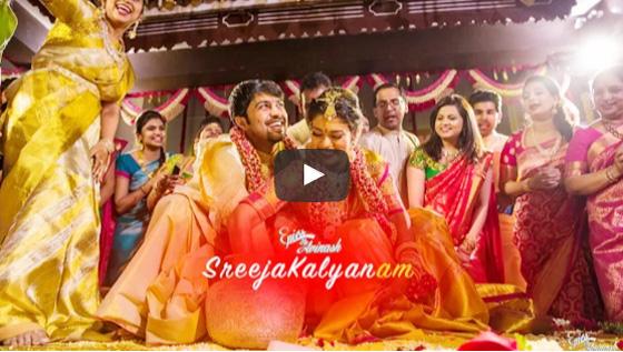 SREEJAKALYANAM CHIRANJEEVI DAUGHTER Wedding video