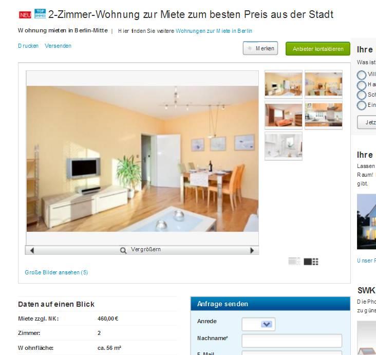 Berlin single wohnung mieten