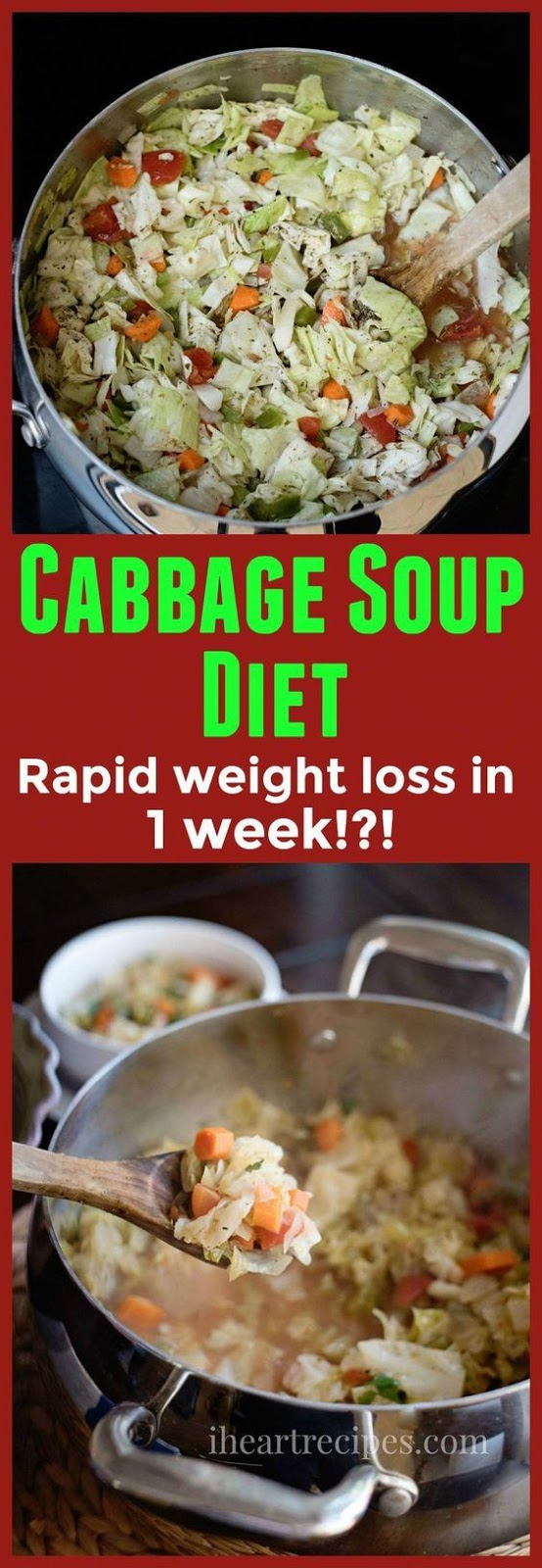 Cabbage Soup Diet Recipe For Weight Loss & Detox