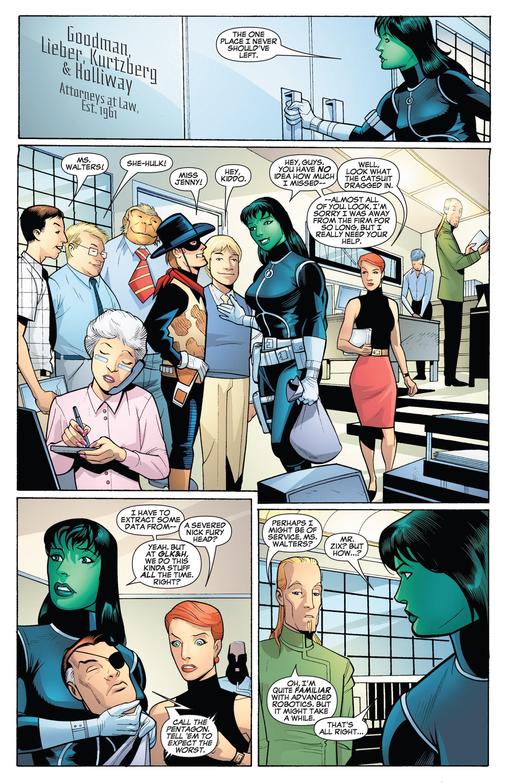 Read online She-Hulk (2005) comic -  Issue #18 - 5