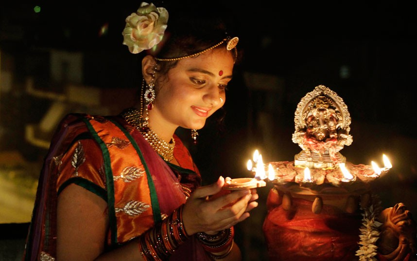 Resultado de imagen para celebraciones hindú