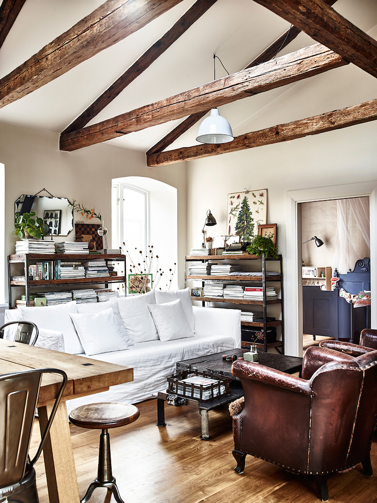 Decordemon eclectic country style swedish apartment - Interior de casas de campo ...