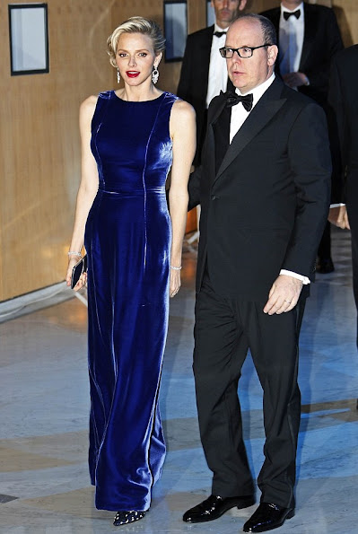 Prince Albert and Princess Charlene attended the MONAA (Monaco Against Autism) charity gala