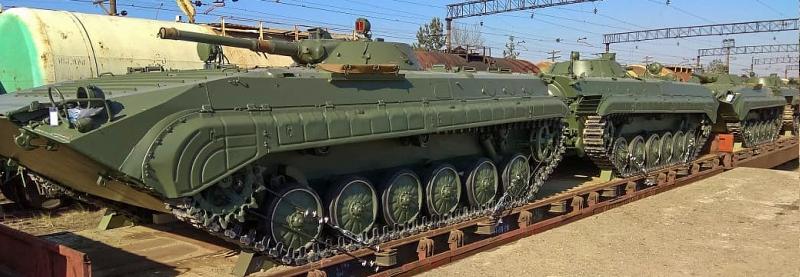Укрспецекспорт почав передачу ЗС України 37 БМП-1