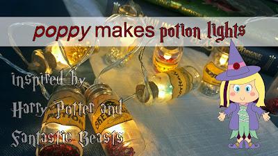 Harry Potter Fantastic Beasts potion lights