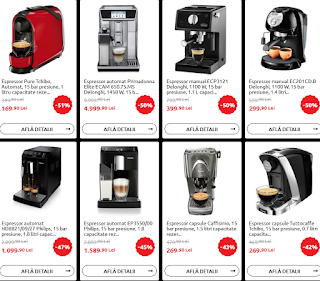 catalog black friday 2018 carrefour reduceri espressoare