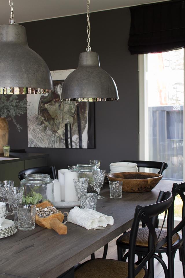 asuntomessut, design-talo pala, ruokailutila