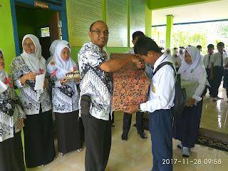 Kegiatan HUT PGRI DI SMP Negeri 44 Kabupaten Tebo