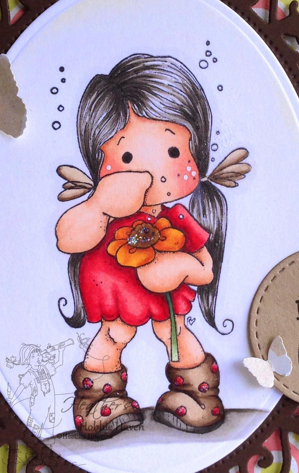 Heather's Hobbie Haven - Sneezing Tilda Card Kit