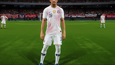 PES 2017 World Cup 2018 Complete Kitpack by Lucas RK Kitmaker [ PS4 ]