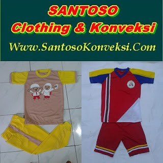 Jual Kaos Seragam Olahraga Anak SD