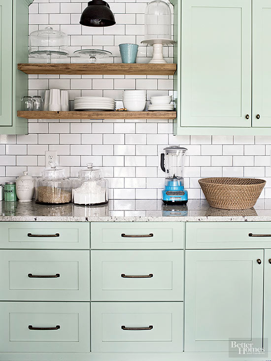 Dreaming About Mint Kitchen Cabinets