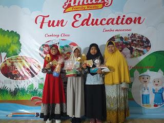 3 Juara dalam Lombah Tahfidz