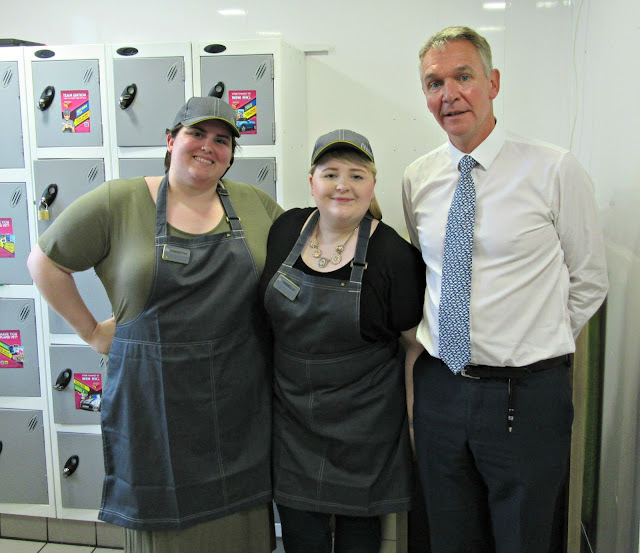 Your New McDonald's, Danielle, Sam and Mark