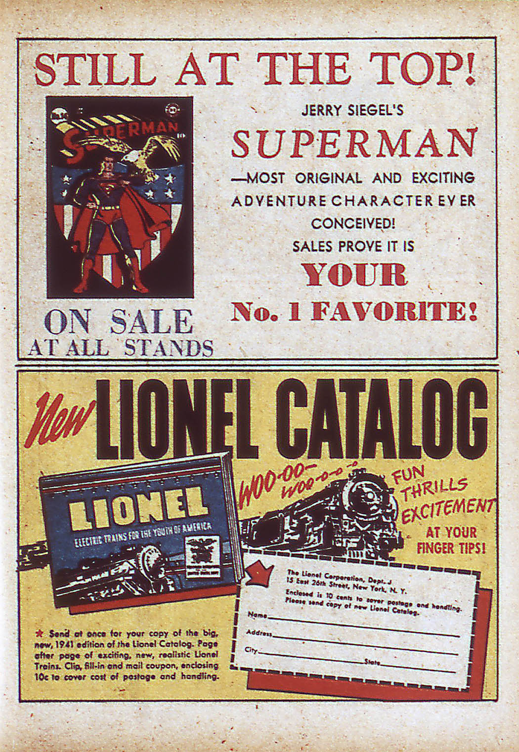 Read online Action Comics (1938) comic -  Issue #43 - 31