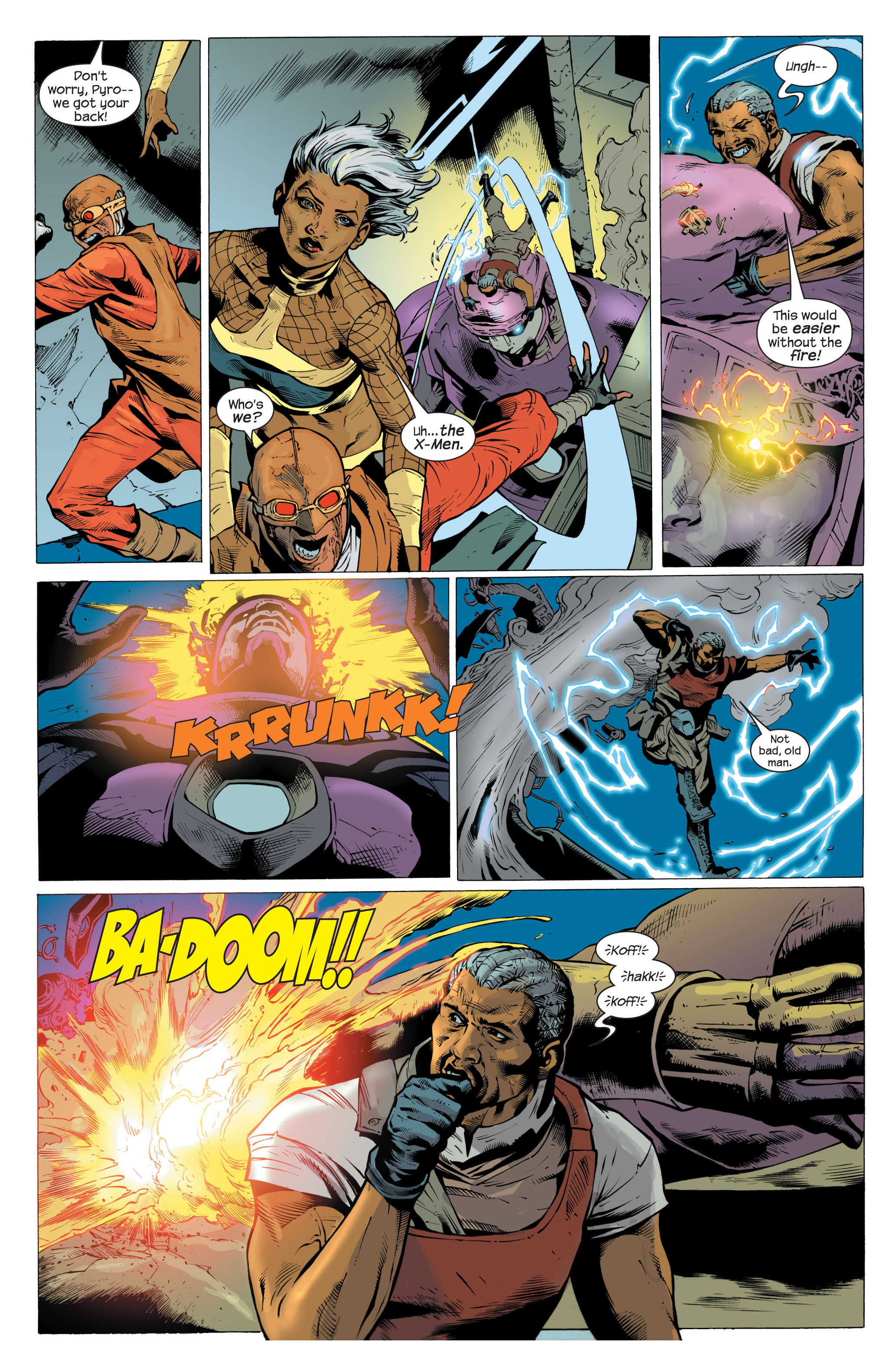 Read online Ultimate X-Men comic -  Issue #82 - 11
