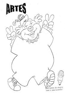 Desenho de palhacinho