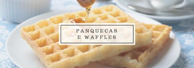 Ótimo para o café da manhã, sim, mas não tão bom para sua saúde. Especialmente se você preparar as panquecas e waffles com uma mistura de waffle e panqueca pré pronta. Prepare a massa em casa e use um óleo saudável ou nenhum para fazer as panquecas.
