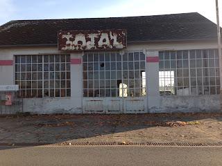 une station abandonnée à chateaumeillant